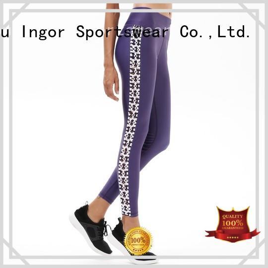 black exercise yoga pants tight INGOR