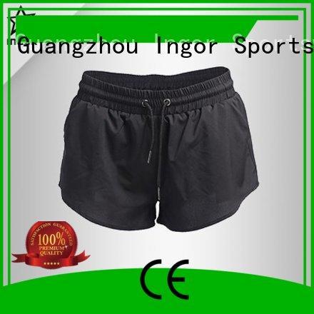 yoga white womens shorts women's running shorts INGOR Brand
