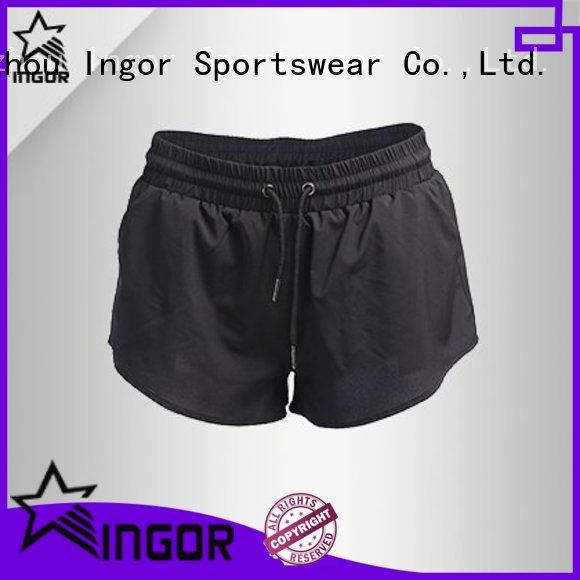 INGOR jogger yoga shorts with high quality at the gym