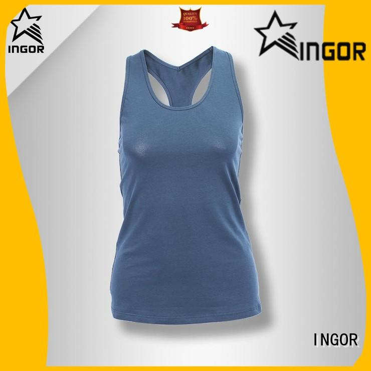 INGOR spandex yoga tops on sale for ladies