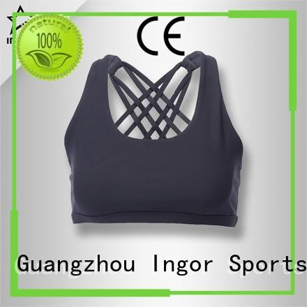 pink tops OEM sports bra INGOR