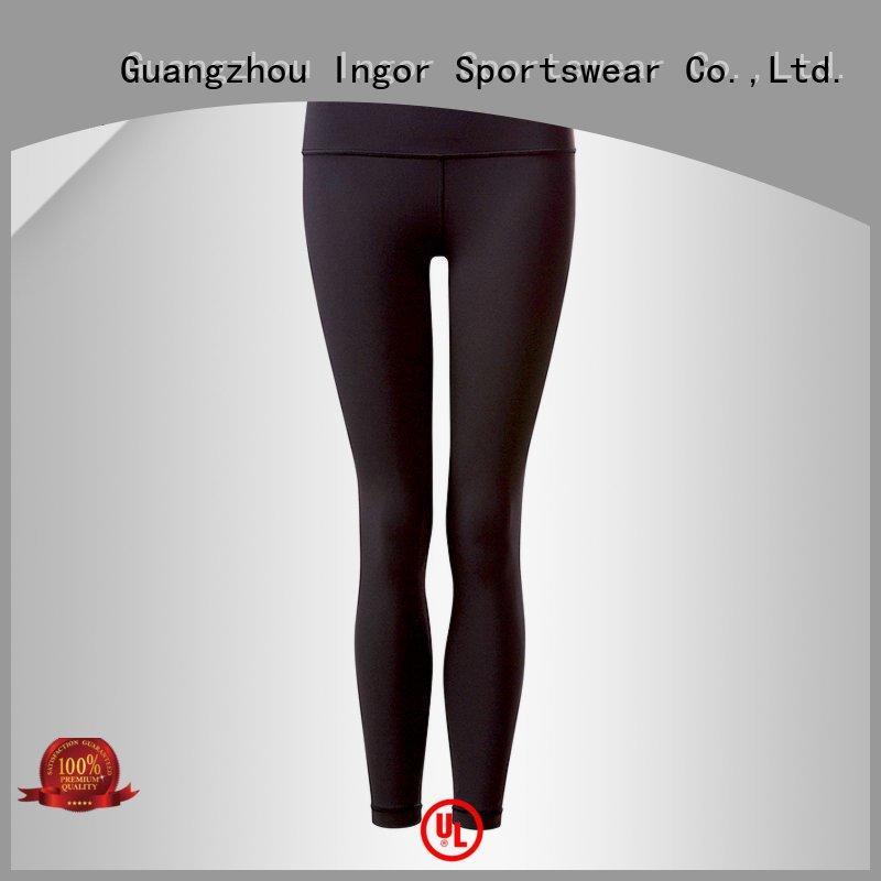 INGOR Brand dress printed mesh fitness yoga pants