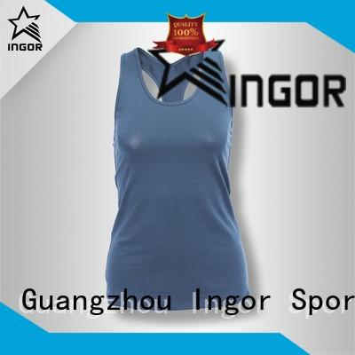 INGOR racerback yoga tops with high quality at the gym
