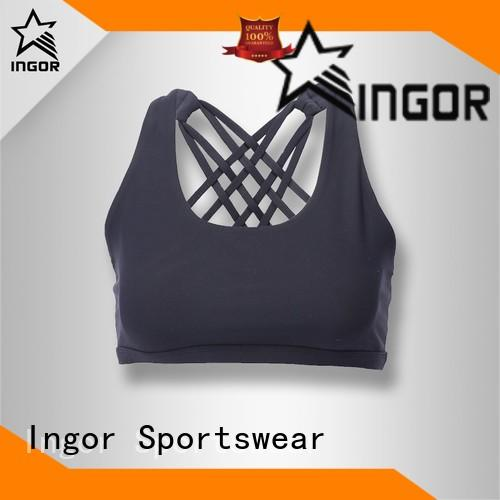INGOR tops sports bra pads to enhance the capacity of sports for girls