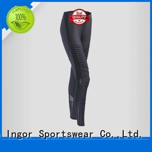 INGOR Brand floral yoga pants gym factory