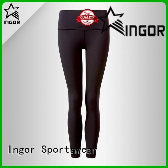 patterned yoga capris with high quality for ladies INGOR