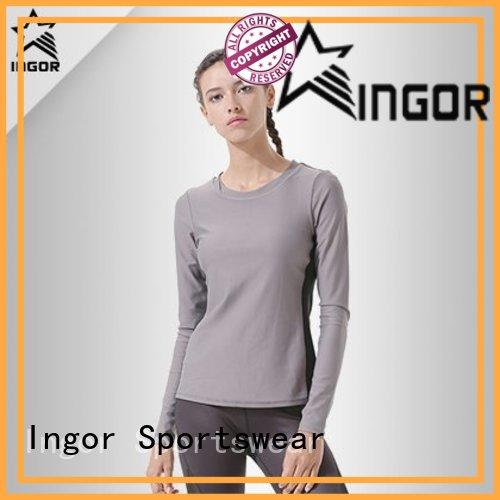 INGOR running Women's Sweatshirts to keep you staying clean and dry for girls