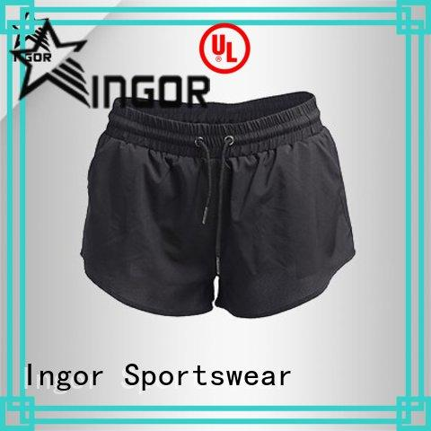 INGOR personalized print shorts women's  with high quality for women