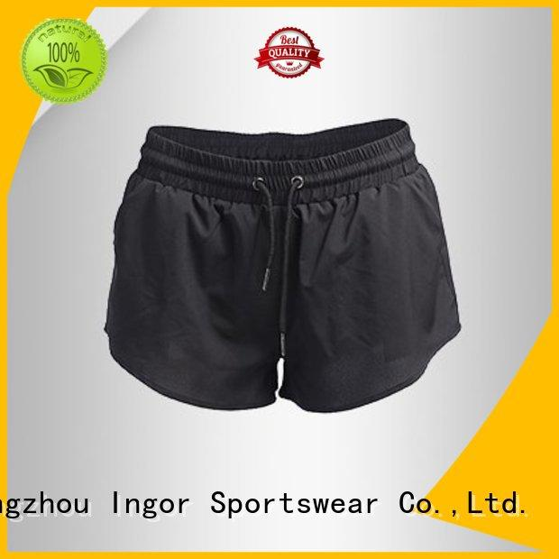 womens shorts women's running shorts INGOR manufacture