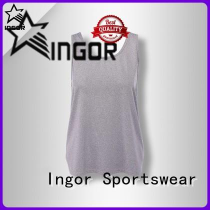 INGOR custom yoga tops with high quality at the gym
