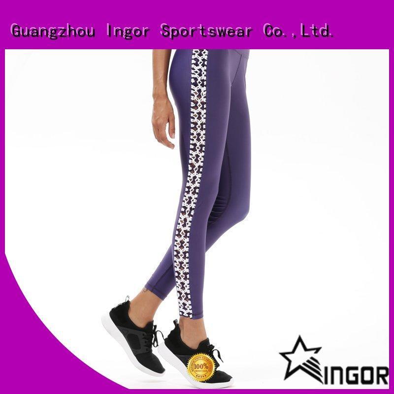 ladies leggings spandex fitness INGOR Brand company