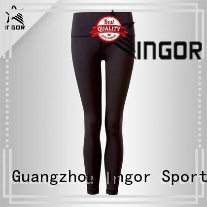 mesh black yoga pants INGOR Brand