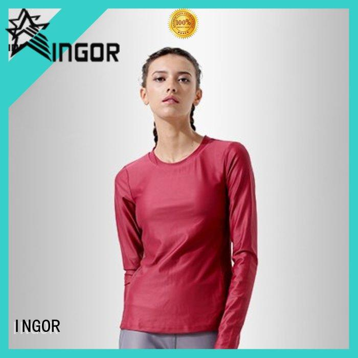 INGOR breathable ladies sweatshirts to keep you staying clean and dry at the gym