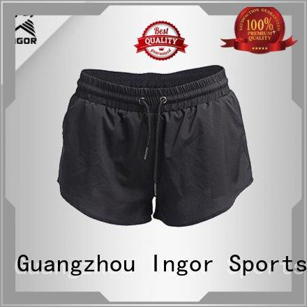 workout womens OEM wholesale women's shorts INGOR