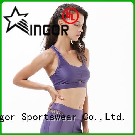 Hot colorful sports bras back INGOR Brand