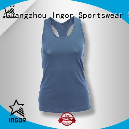 INGOR Brand bulk women tank top mesh factory