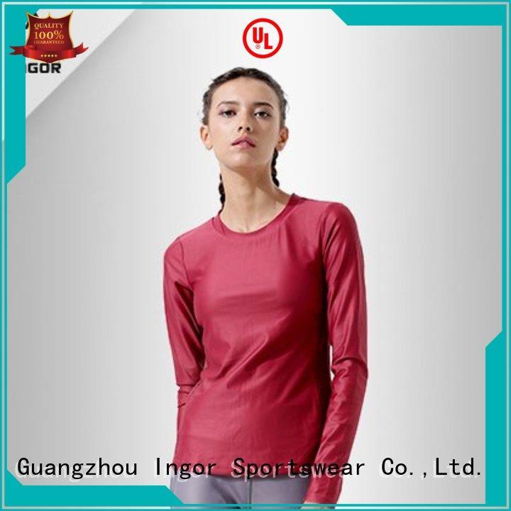 running compression Sports sweatshirts sweatshirt INGOR Brand company