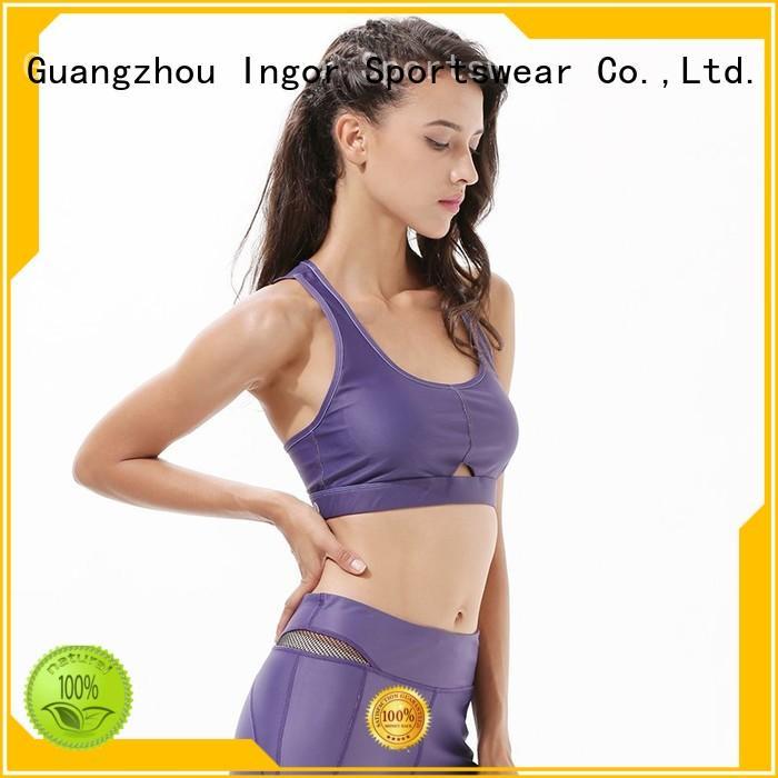 colorful sports bras patterned ingor Warranty INGOR