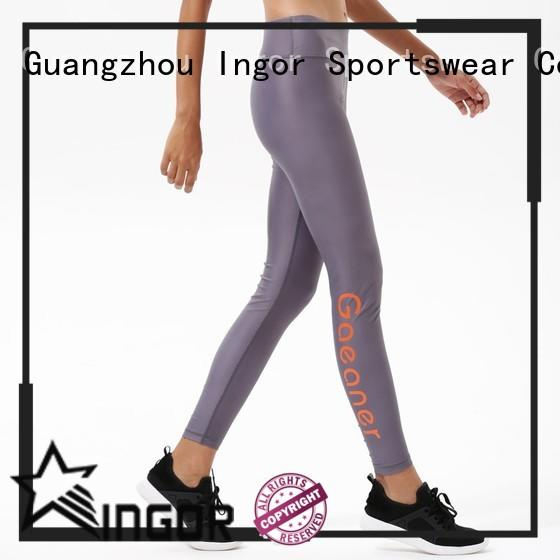 INGOR fun yoga leggings with high quality for girls