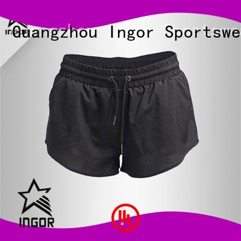 Custom workout wholesale women's shorts shorts INGOR