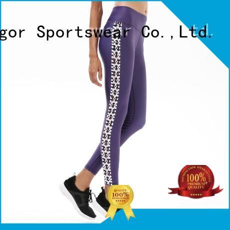 Hot mesh yoga pants fitness tight INGOR Brand
