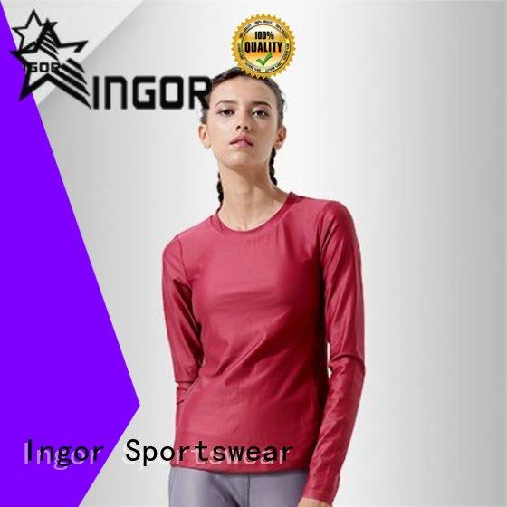 INGOR long Women's Sweatshirts to keep you staying clean and dry for girls