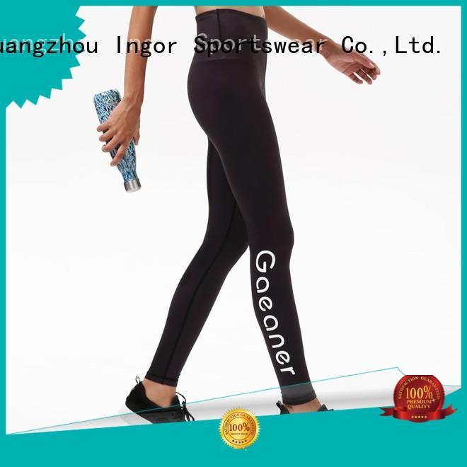 fashion activewear patterned INGOR Brand yoga pants