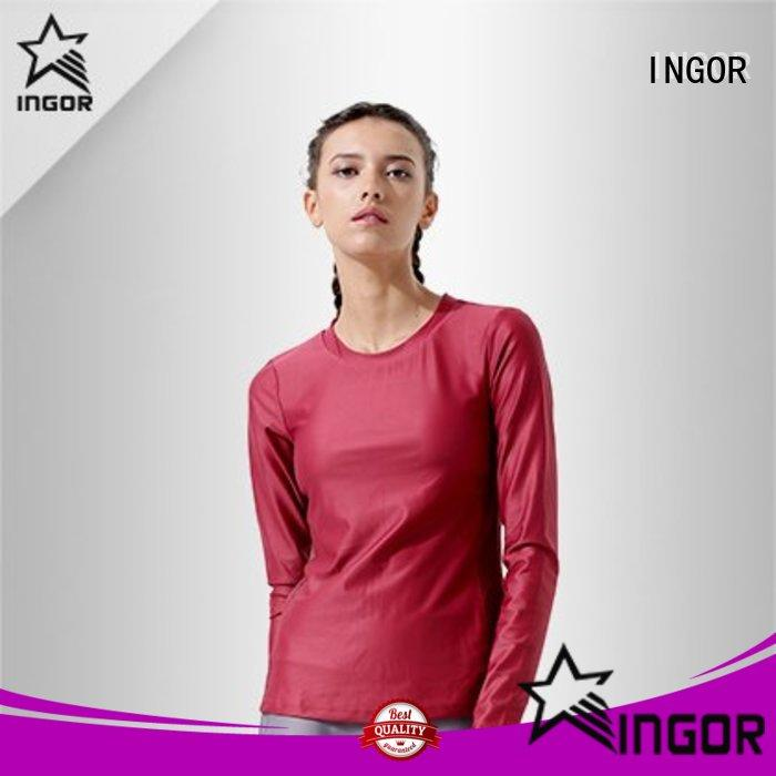 sports Black Sweatshirt with high quality for sport INGOR