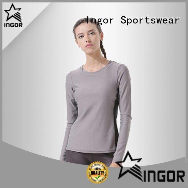 INGOR long colorful sweatshirts with drawstring design for ladies
