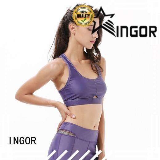 INGOR breathable women's sports bra with high quality for sport