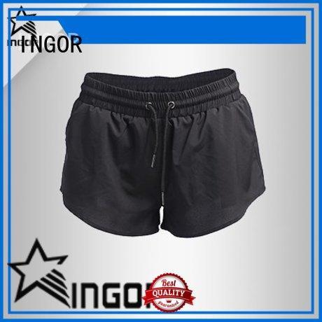custom yoga shorts running on sale for sportb