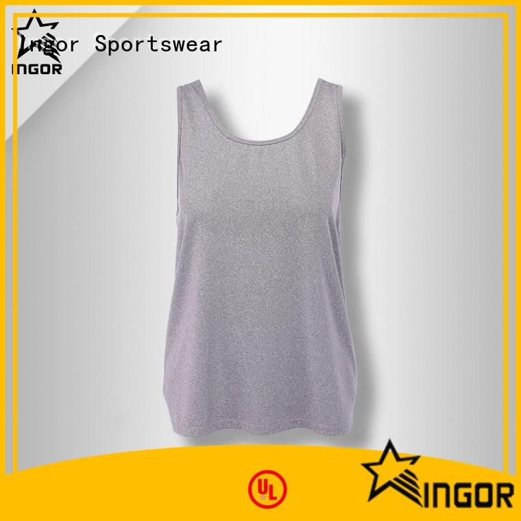 INGOR fashion tank tops for women with racerback design for ladies
