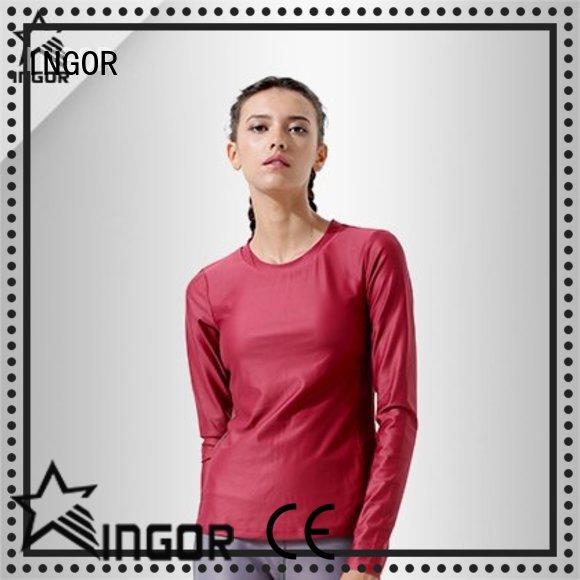 INGOR breathable modern sweatshirt with drawstring design for girls