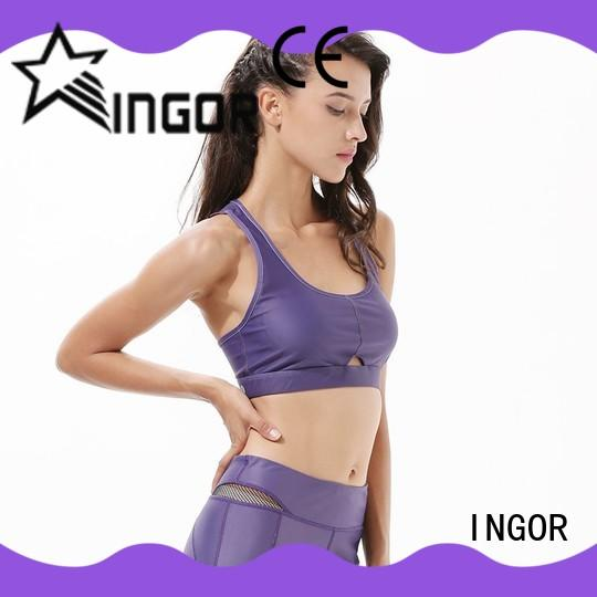 breathable yoga bra padded to enhance the capacity of sports for women
