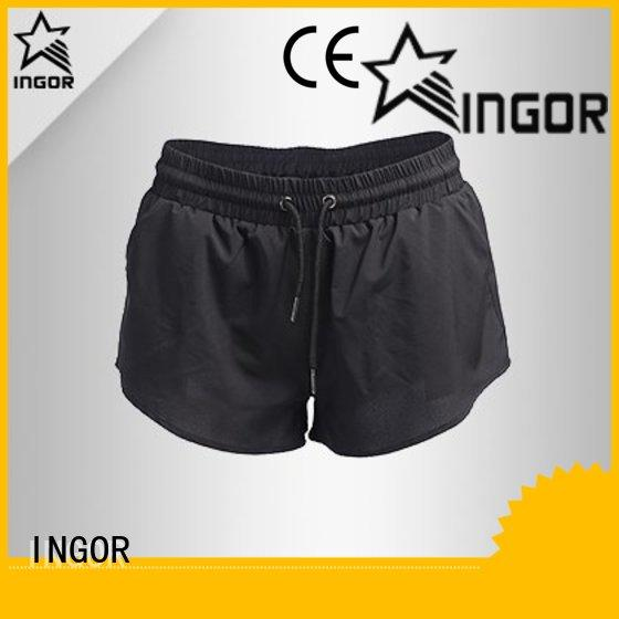 high quality womens shorts waisted with high quality for ladies