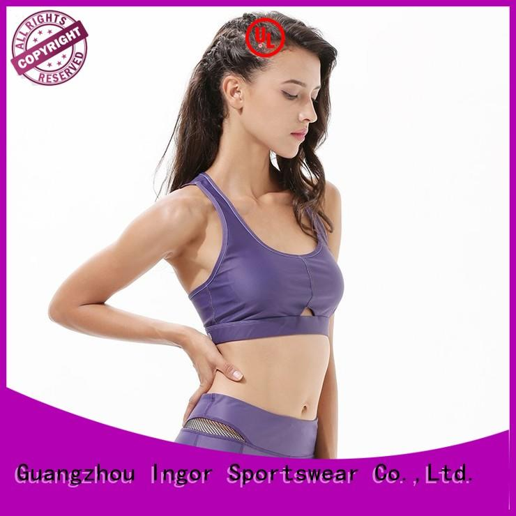 colorful sports bras patterned gym women INGOR Brand