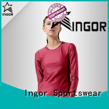 INGOR sweatshirt Black Sweatshirt to keep you staying clean and dry for ladies