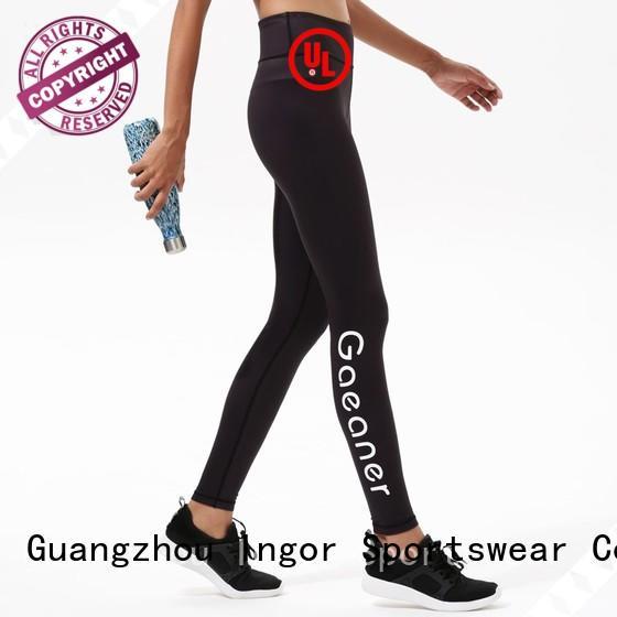 fashion Custom womens sexy yoga pants INGOR capri