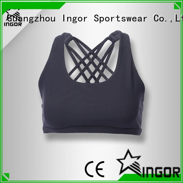 INGOR online sports bra with clasp to enhance the capacity of sports at the gym