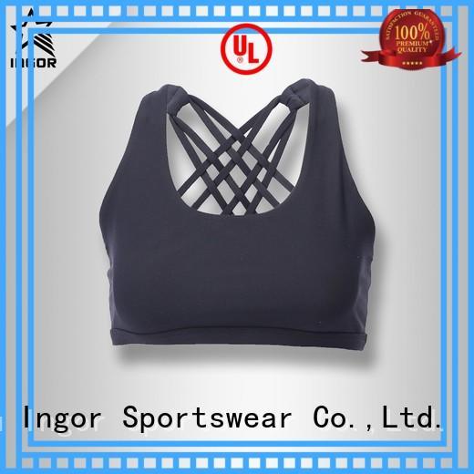 Wholesale strap longline sports bra INGOR Brand