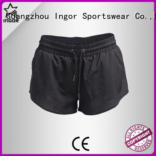 workout wholesale women's shorts jogger INGOR company