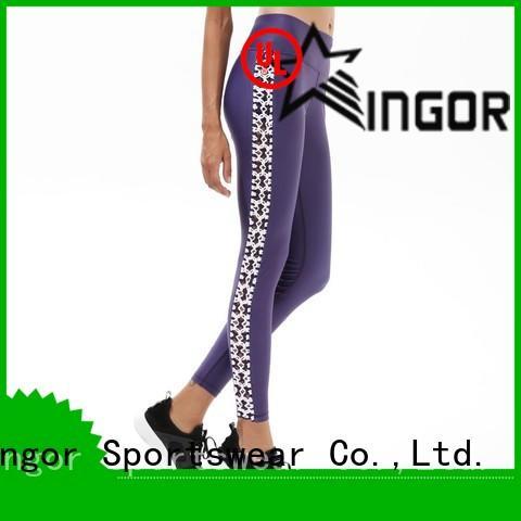 Quality INGOR Brand ladies leggings waisted print
