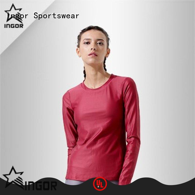 private ladies sweatshirts tee with high quality for girls