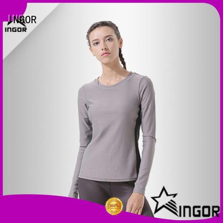 INGOR design Black Sweatshirt with high quality for ladies