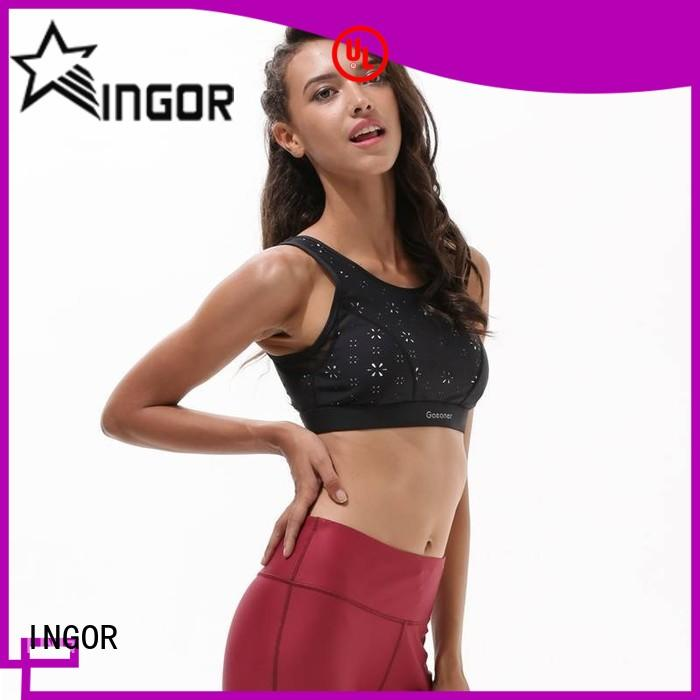custom yoga bra designer with high quality at the gym
