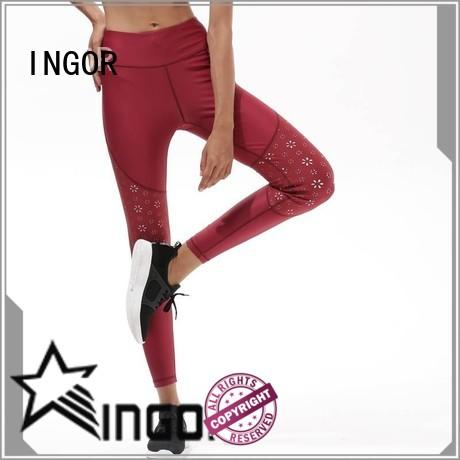 INGOR tie dye yoga pants spandex for girls