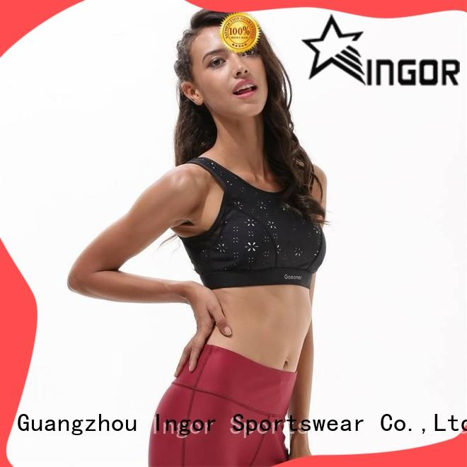 soft women's sports bra cross to enhance the capacity of sports for ladies