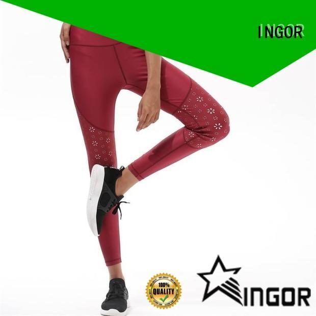 INGOR tie yoga leggings on sale for yoga