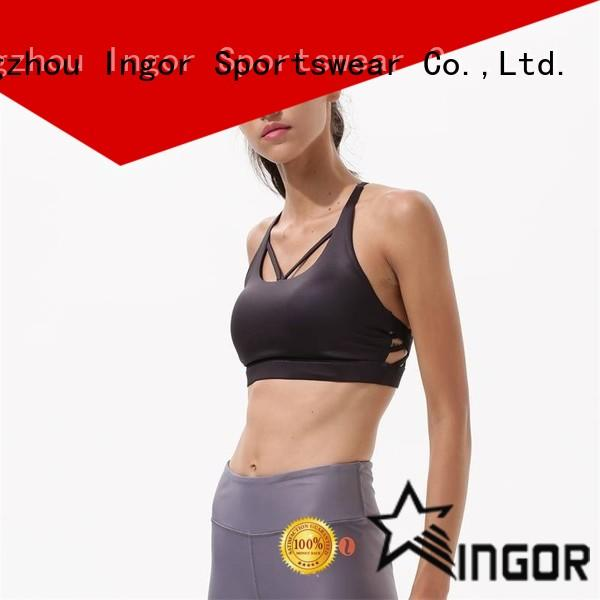 INGOR custom sports bra brands to enhance the capacity of sports for ladies
