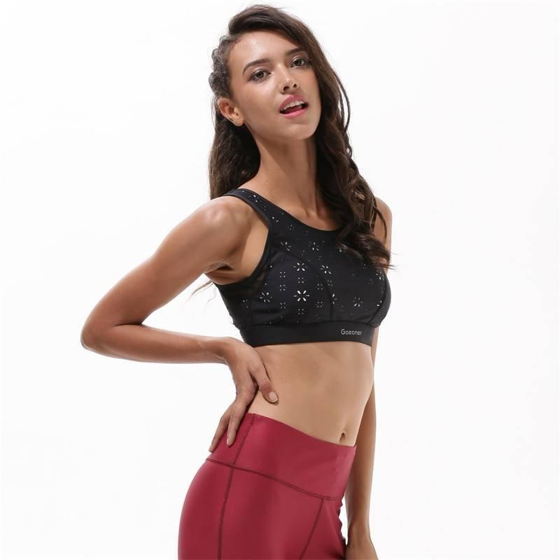 Gym push up girl sexy high quality ladies sports bra